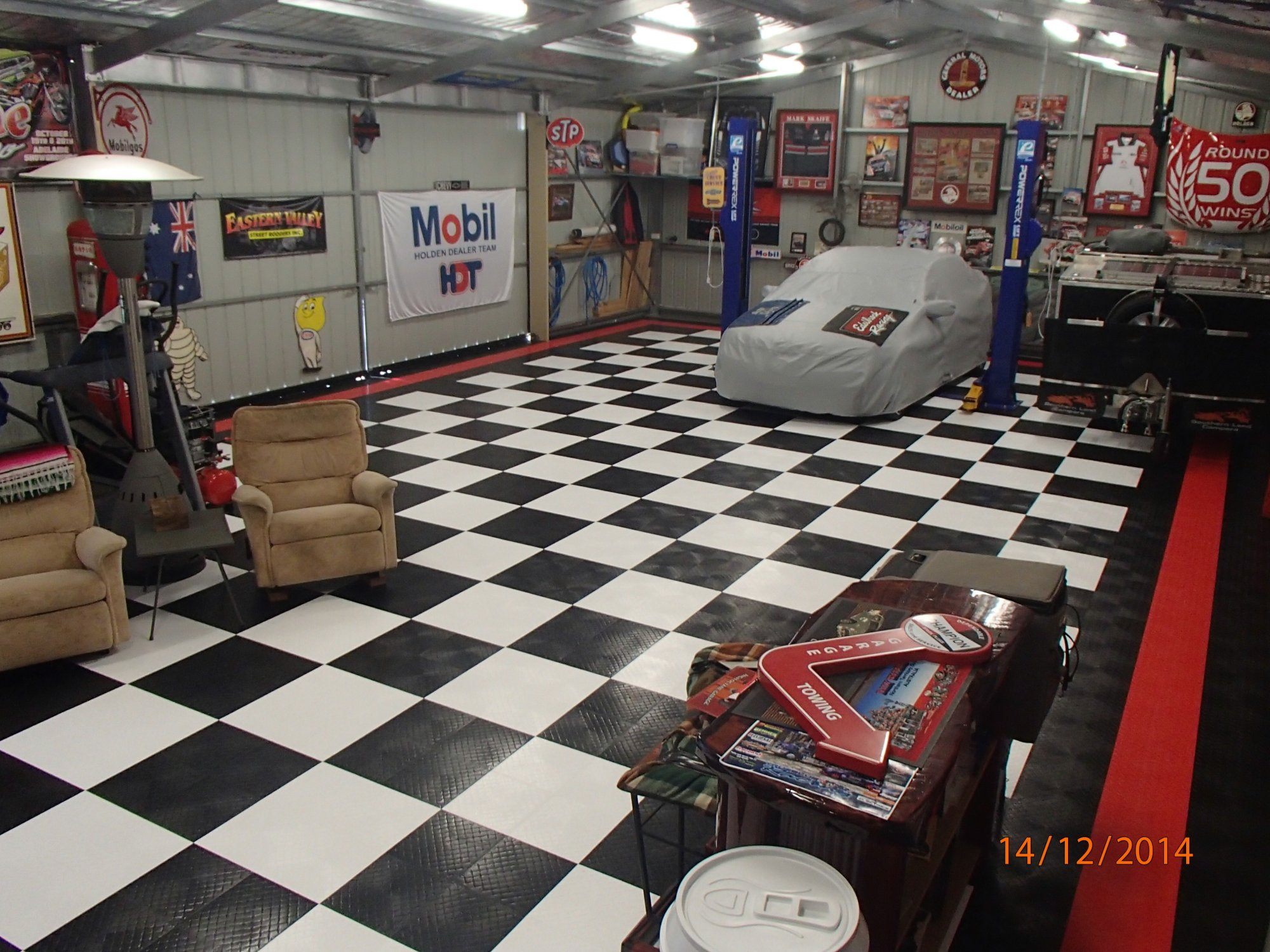 Garage RaceDeck Diamond