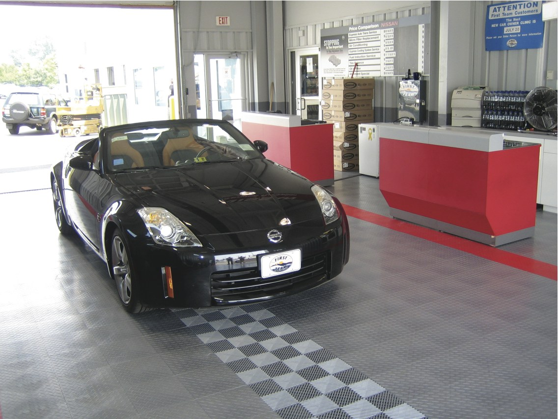 Commercial Garage Flooring
